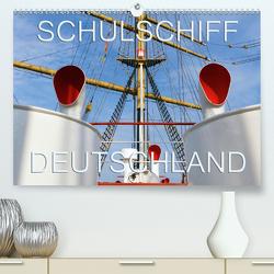 Schulschiff Deutschland in Bremen-Vegesack (Premium, hochwertiger DIN A2 Wandkalender 2021, Kunstdruck in Hochglanz) von happyroger
