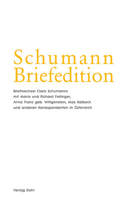 Schumann-Briefedition / Schumann-Briefedition II.4 von Eber,  Anselm, Kopitz,  Klaus Martin, Synofzik,  Thomas