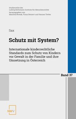 Schutz mit System? von Sax,  Helmut