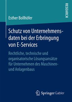 Schutz von Unternehmensdaten bei der Erbringung von E-Services von Bollhöfer,  Esther
