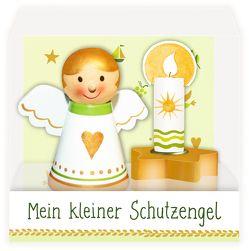 Schutzengel mit Kerzenhalter – Mein kleiner Schutzengel von Mußenbrock,  Anne