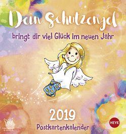 Schutzengel Postkartenkalender – Kalender 2019 von Heye