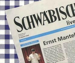 Schwäbisch live von Mantel,  Ernst