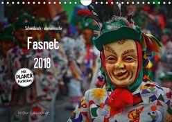 Schwäbisch alemannische Fasnet (Wandkalender 2018 DIN A4 quer) von Hoch,  Horst