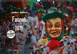 Schwäbisch alemannische Fasnet (Wandkalender 2019 DIN A3 quer) von Hoch,  Horst