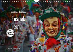 Schwäbisch alemannische Fasnet (Wandkalender 2019 DIN A4 quer) von Hoch,  Horst