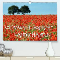 SCHWÄBISCH-BADISCHE LANDSCHAFTEN (Premium, hochwertiger DIN A2 Wandkalender 2020, Kunstdruck in Hochglanz) von Mathias,  Simone