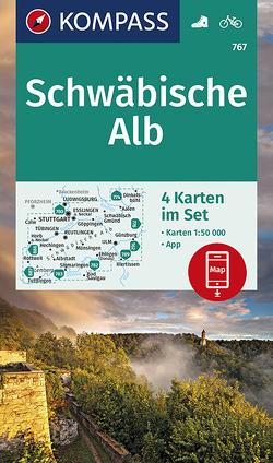 Schwäbische Alb von KOMPASS-Karten GmbH