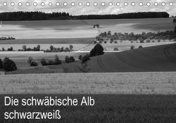 Schwäbische Alb schwarzweiß (Tischkalender 2021 DIN A5 quer) von Haas,  Willi