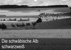Schwäbische Alb schwarzweiß (Wandkalender 2021 DIN A3 quer) von Haas,  Willi
