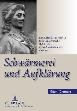 Schwärmerei und Aufklärung von Donnert,  Erich