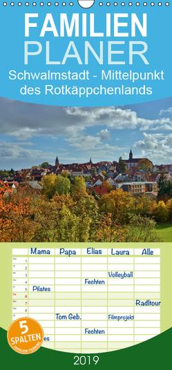 Schwalmstadt – Mittelpunkt des Rotkäppchenlands – Familienplaner hoch (Wandkalender 2019 , 21 cm x 45 cm, hoch) von Klapp,  Lutz