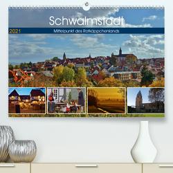 Schwalmstadt – Mittelpunkt des Rotkäppchenlands (Premium, hochwertiger DIN A2 Wandkalender 2021, Kunstdruck in Hochglanz) von Klapp,  Lutz