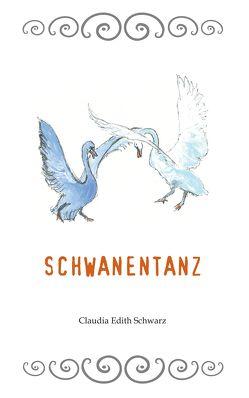 Schwanentanz von Claudia Edith,  Schwarz