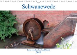 Schwanewede in den 4 Jahreszeiten (Wandkalender 2019 DIN A4 quer) von Jannusch,  Andreas