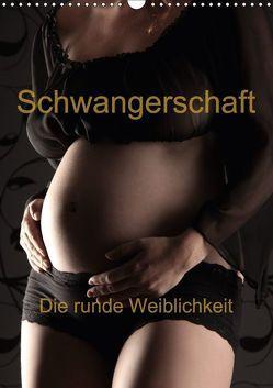 Schwangerschaft – die runde Weiblichkeit (Wandkalender 2018 DIN A3 hoch) von Weis,  Stefan