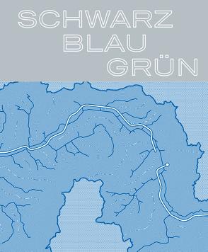 Schwarz – Blau – Grün: 120 Jahre Emschergenossenschaft von Echterhoff,  Raimund, Grün,  Dr. Emanuel, Paetzel,  Prof. Dr. Uli