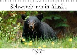 Schwarzbären in Alaska (Wandkalender 2018 DIN A3 quer) von Wilczek,  Dieter-M.