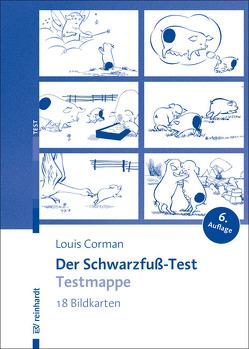 Schwarzfuß-Test-Testmappe von Corman,  Louis, Dute-Corman,  Anna