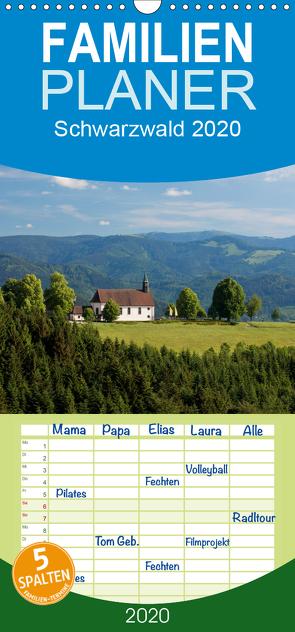 Schwarzwald 2020 – Familienplaner hoch (Wandkalender 2020 , 21 cm x 45 cm, hoch) von kalender365.com