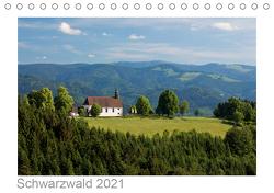Schwarzwald 2021 (Tischkalender 2021 DIN A5 quer) von kalender365.com