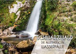 Schwarzwald – Allerheiligen Wasserfälle (Wandkalender 2018 DIN A2 quer) von Peter,  Ansgar