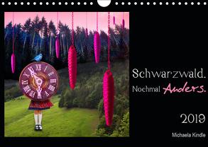 Schwarzwald. Nochmal Anders. (Wandkalender 2019 DIN A4 quer) von Kindle,  Michaela