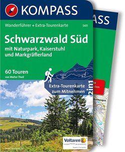 Schwarzwald Süd mit Naturpark, Kaiserstuhl und Markgräflerland von Theil,  Walter