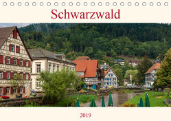 Schwarzwald (Tischkalender 2019 DIN A5 quer) von Pomposch,  Heinz