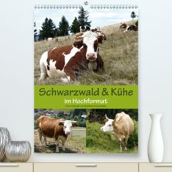 Schwarzwald und Kühe im Hochformat (Premium, hochwertiger DIN A2 Wandkalender 2020, Kunstdruck in Hochglanz) von Biothemen, Goldscheider,  Stefanie