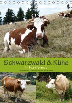 Schwarzwald und Kühe im Hochformat (Tischkalender 2019 DIN A5 hoch) von Biothemen, Goldscheider,  Stefanie