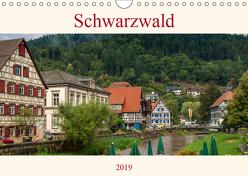 Schwarzwald (Wandkalender 2019 DIN A4 quer) von Pomposch,  Heinz