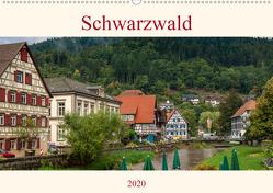 Schwarzwald (Wandkalender 2020 DIN A2 quer) von Pompsch,  Heinz