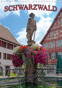 Schwarzwald (Wandkalender 2021 DIN A4 hoch) von Geduldig,  Bildagentur