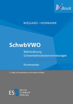 SchwbVWO von Hohmann,  Roger, Wiegand,  Bernd