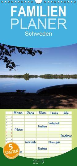 Schweden 2019 – Familienplaner hoch (Wandkalender 2019 , 21 cm x 45 cm, hoch) von Rieger,  Astrid