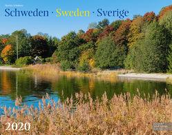 Schweden 2020 Großformat-Kalender 58 x 45,5 cm