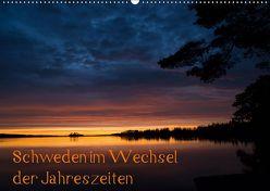 Schweden im Wechsel der Jahreszeiten (Wandkalender 2019 DIN A2 quer) von Jörrn,  Michael