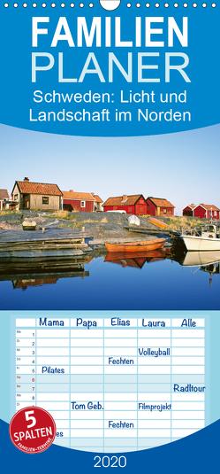 Schweden: Licht und Landschaft im Norden – Familienplaner hoch (Wandkalender 2020 , 21 cm x 45 cm, hoch) von CALVENDO