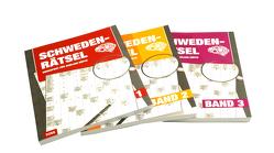 Schweden – Rätsel – Band 1-3 Großdruck – 3er Pack