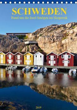 SCHWEDEN Rund um die Insel Smögen im Skagerrak (Tischkalender 2019 DIN A5 hoch) von Falke,  Manuela