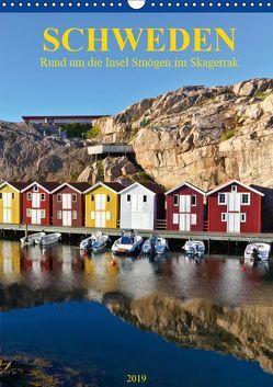 SCHWEDEN Rund um die Insel Smögen im Skagerrak (Wandkalender 2019 DIN A3 hoch) von Falke,  Manuela