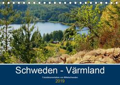 Schweden – Värmland (Tischkalender 2019 DIN A5 quer) von Freiberg,  Patrick