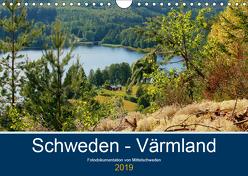 Schweden – Värmland (Wandkalender 2019 DIN A4 quer) von Freiberg,  Patrick