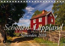 Schweden – Von Schonen nach Lappland (Tischkalender 2018 DIN A5 quer) von Schiedl,  Bernd