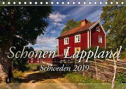 Schweden – Von Schonen nach Lappland (Tischkalender 2019 DIN A5 quer) von Schiedl,  Bernd