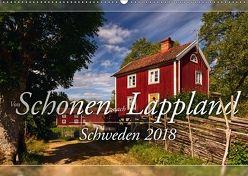 Schweden – Von Schonen nach Lappland (Wandkalender 2018 DIN A2 quer) von Schiedl,  Bernd