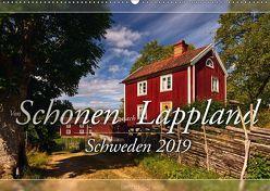 Schweden – Von Schonen nach Lappland (Wandkalender 2019 DIN A2 quer) von Schiedl,  Bernd