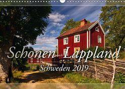 Schweden – Von Schonen nach Lappland (Wandkalender 2019 DIN A3 quer) von Schiedl,  Bernd
