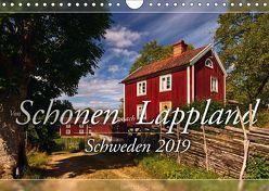 Schweden – Von Schonen nach Lappland (Wandkalender 2019 DIN A4 quer) von Schiedl,  Bernd